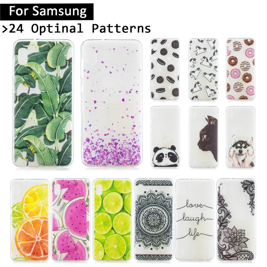 <font><b>Luxury</b></font> Cute Printed <font><b>Case</b></font> For <font><b>Samsung</b></font> <font><b>Galaxy</b></font> A10 <font><b>A30</b></font> A40 A50 A70 Soft TPU Silicone Cover For <font><b>Samsung</b></font> A 10/30/40/50/70 Phone <font><b>Cases</b></font> image