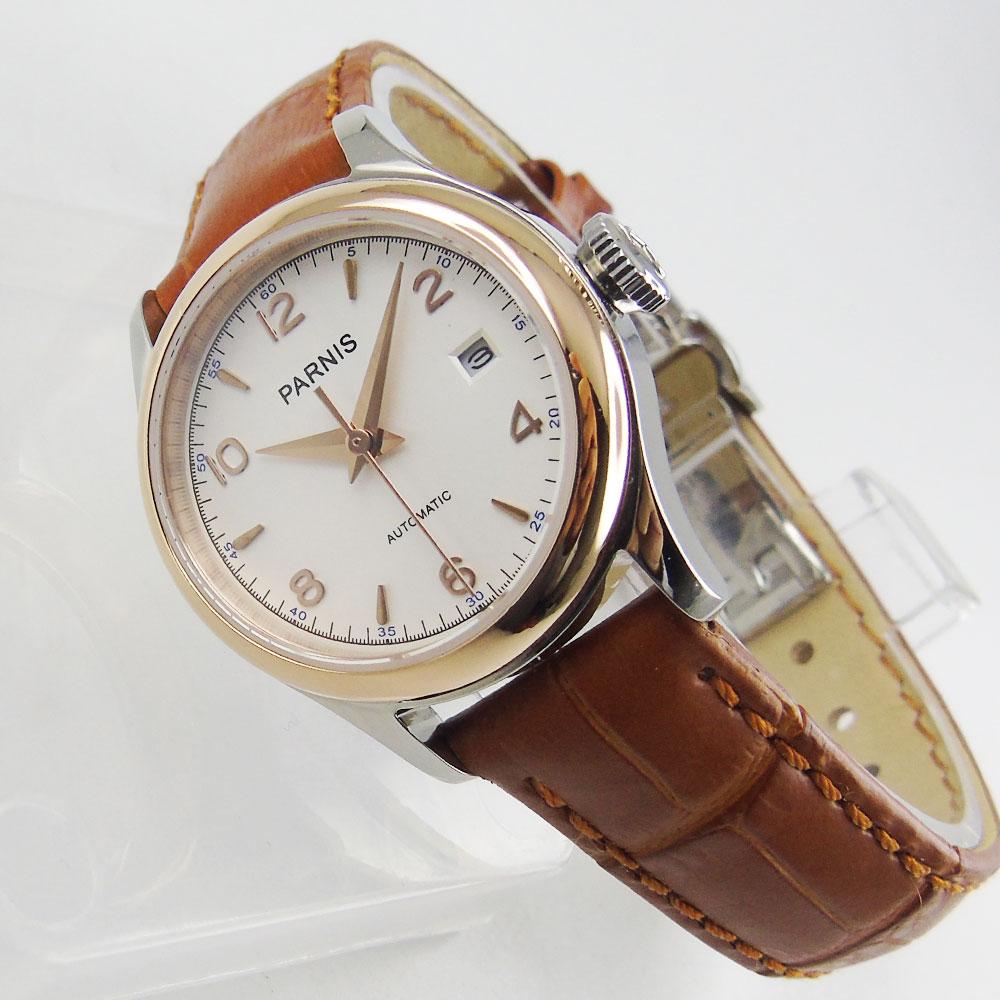 Mini Lady Women Watch 26mm Round Wristwatch MIYOTA Movement Date Window Rose Gold Case Deployment Clasp