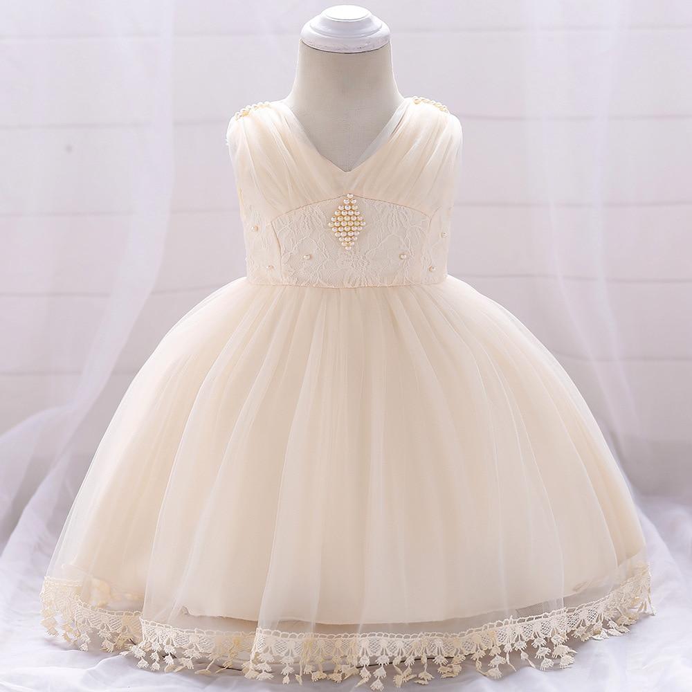 1-3T Baby   Flower     Girl     Dress   Elegant Princess Puffy Floor Length   Dresses   For Wedding