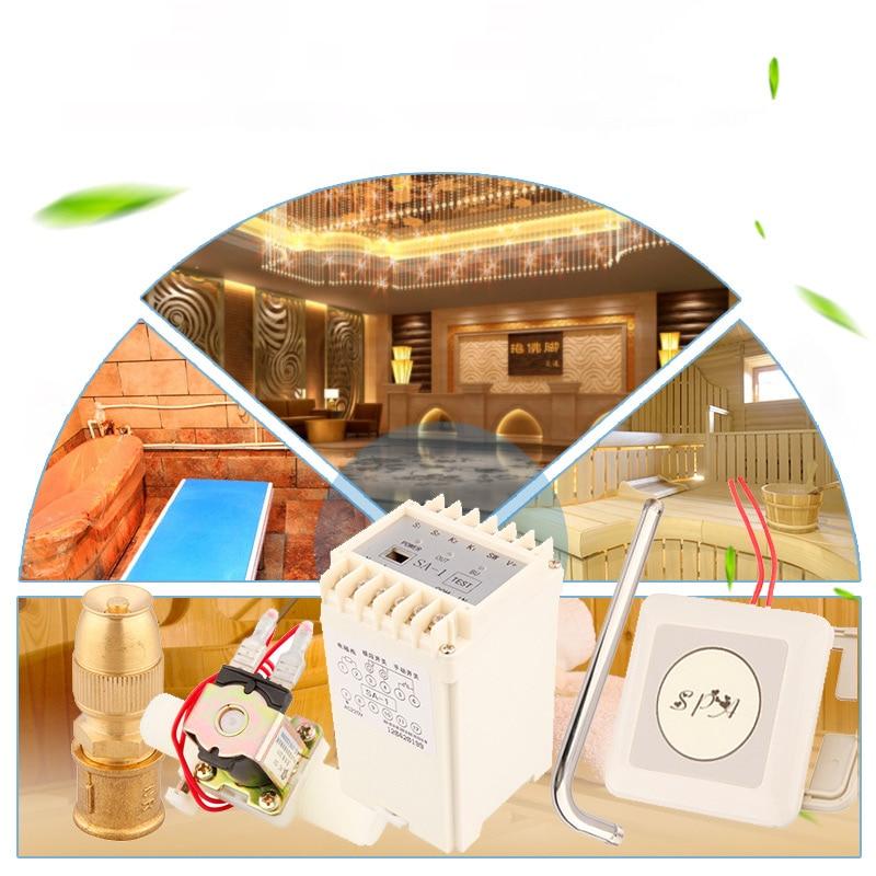 Электронная автоматическая душевая машина для сауны, практичная ванная комната, ванна для отеля, дома, аксессуары для сауны, похудение, расс