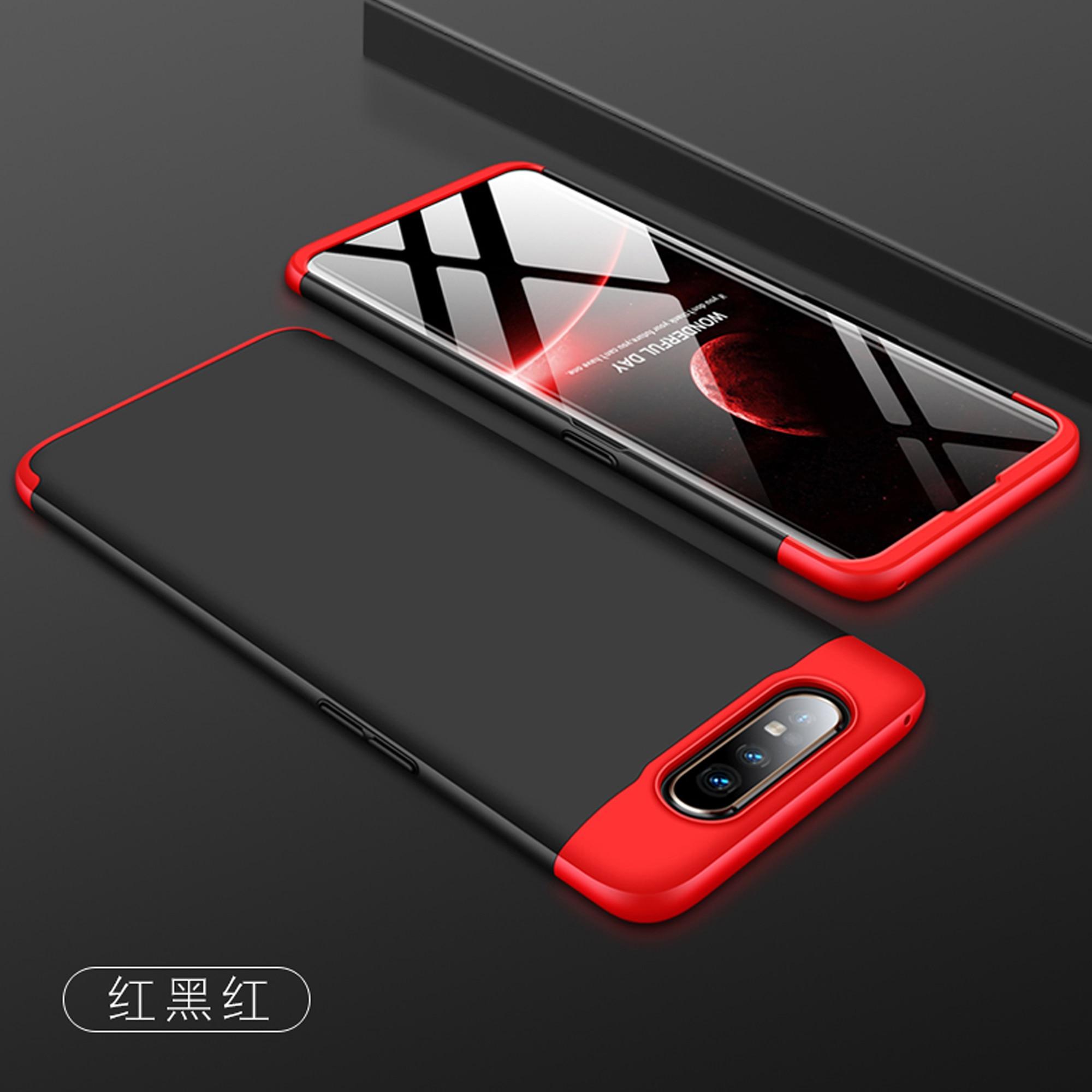 Чехол 3 в 1 360 для Samsung Galaxy A80 SM-A805F A805 A805F Чехлы Coque 360 градусов Твердый чехол для Samsung A90 полностью задняя крышка