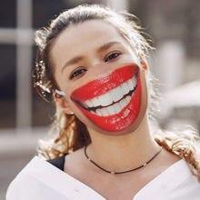 Mascarilla facial Unisex, máscara facial y para la boca, lavable, a prueba de polvo, divertida