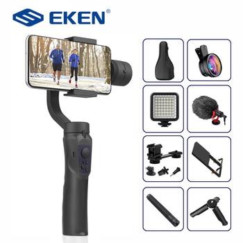 Estabilizador de mano EKEN H4 3 Axis, teléfono móvil, grabación de vídeo, teléfono inteligente, cardán para cámara de acción, teléfono móvil