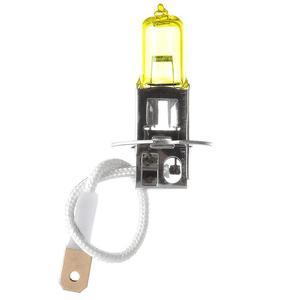NEW 2Pcs H3 12V 55W 3000K Super Bright Yellow Car Headlight Bulb Bulb Bulbs Auto Light Head Light Source Automobiles Fog La E4D3