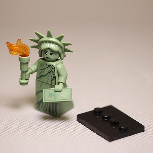 MINI Statue Of Liberty Statue Building Blocks Toys