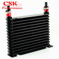 8-un refroidisseur d'huile en aluminium enduit de course de moteur/TRANSMISSION de 32MM 13 rangées + garnitures