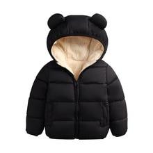 Baby Winter Jacket Coat Kids Casual Cute Ear Hooded Down