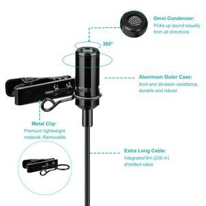 Image 4 - KIMAFUN Dual Lavalierไมโครโฟนแฮนด์ฟรีClip on LapelไมโครโฟนMINIคอคอนเดนเซอร์MICสำหรับกล้องDSLRโทรศัพท์PCแล็ปท็อป