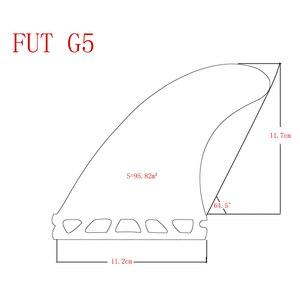Image 5 - Juego de aletas de fibra de vidrio para tabla de surf, conjunto de aletas para tabla de surf Upsurf Future Fin G5 + GL, 4 unidades