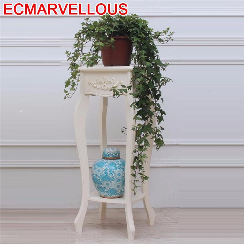 Estante Para Plantas Indoor Huerto Urbano Madera Wooden Shelves For Dekoration Balcony Flower Shelf Stojak Na Kwiaty Plant Stand|Plant Shelves| |  - title=