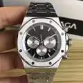 Or Rose acier inoxydable quartz chronographe Royal marque de luxe concepteur hommes montre hommes montres masculino montres bracelets