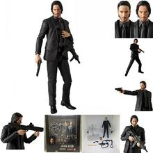 15cm MAFEX John wick PVC Action Figure Toys MAFEX John wick Joint movable figure Decoration collectible Model Toys for kid gift