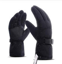 Motorcycle Gloves Winter Moto Gloves Riding Winter Thermal Fleece Lined Waterproof Windproof Touch Screen Motorbike Gloves цена