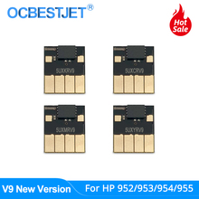 V9 New ARC Chip For HP 952 953 954 955 952XL 953XL 954XL 955XL For HP Officejet Pro 7740 8210 8710 8720 8730 8740 Permanent Chip