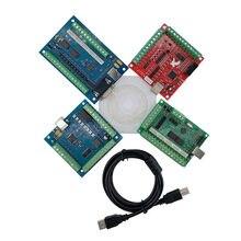Carte de contrôle d'interface, CNC, USB MACH3, 100Khz, 4 axes et 5 axes, 1 pièce
