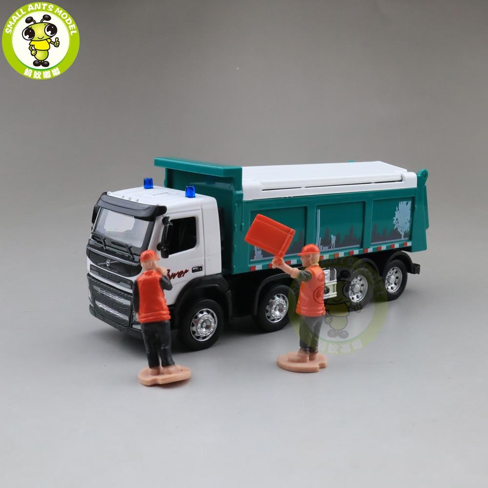1/50 Volvo Dump Truck Diecast Metal Model Car Toys Kids Boys Gilrs Gifts