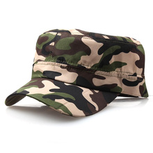 Hat Army-Caps Military Sun-Hats Classical-Style Adjustable Fishing Sunscreen Wild Solid-Color