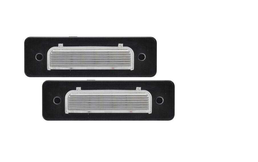 2PCS High Quality <font><b>E4</b></font> Approved LED License Plate <font><b>Lamp</b></font> for BMW E30 E12 E28 E24 E23 M1 E26 image