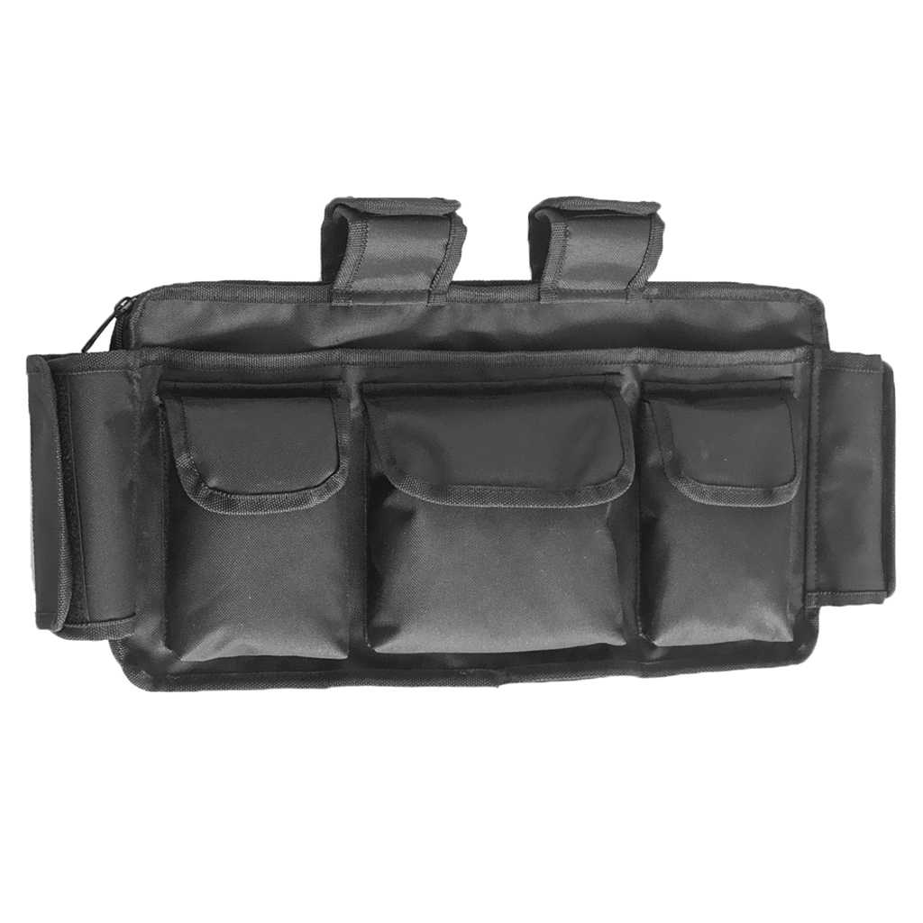 """Universal Pocket Walker Bag/Tote/Pouch, 17.7x9.8"""" Wheelchair Pouch Bag with Many Pockets for Elderly Disabled"""