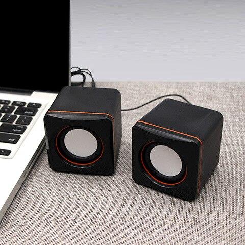 Ordinateur Portable ordinateur de bureau Mini haut-parleur 101 petits carrés Portable téléphone Portable cadeau USB petite stéréo en gros