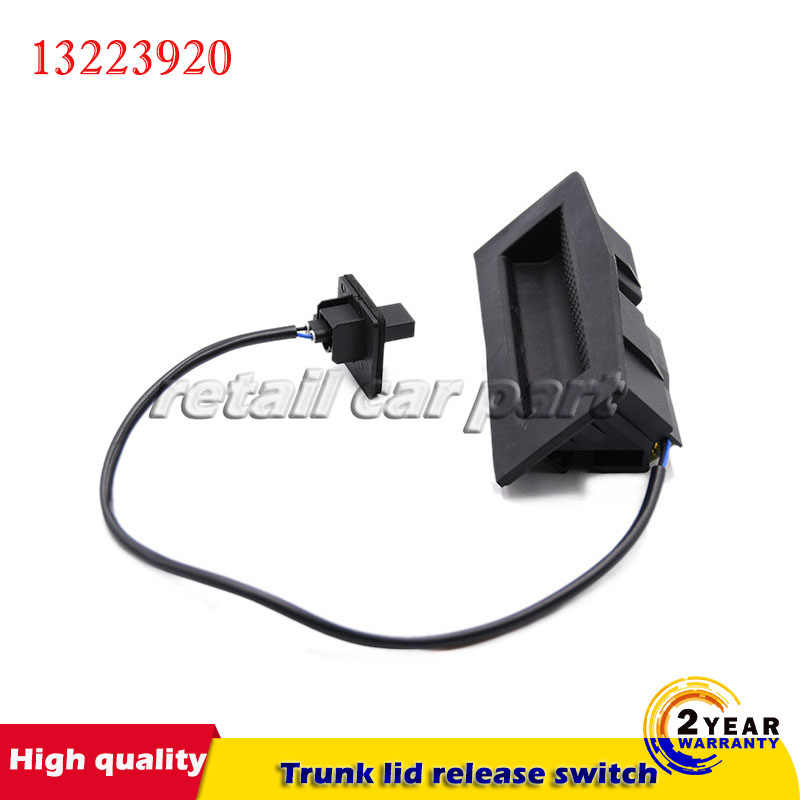 Pusokei Car Boot Tailgate Release Switch Rear Door Release Trunk Switch for Opel Astra H//for Vauxhall Astra MK V