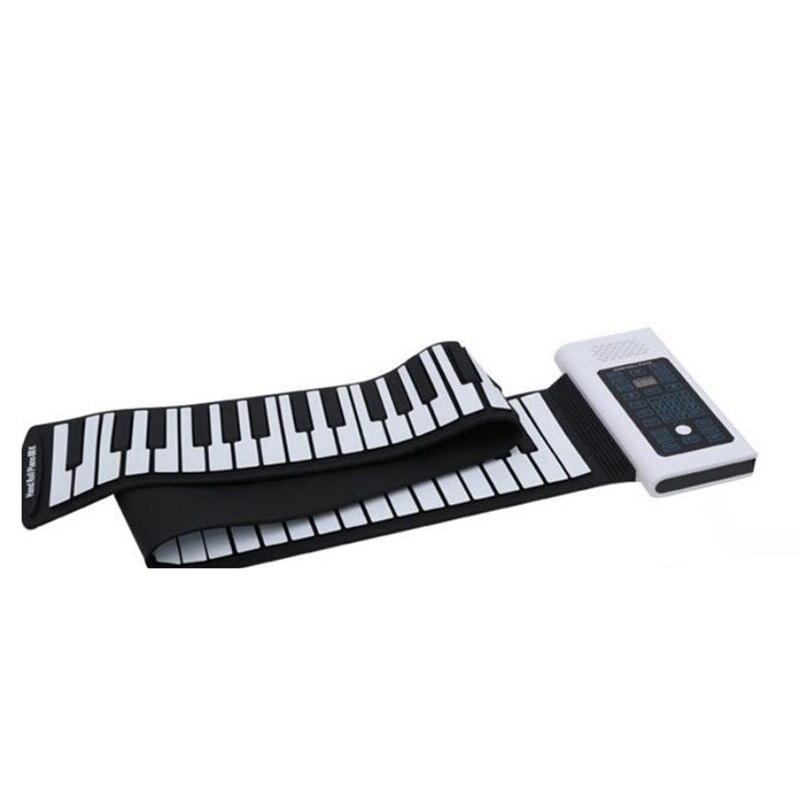 rolo de mão piano flexível silicone