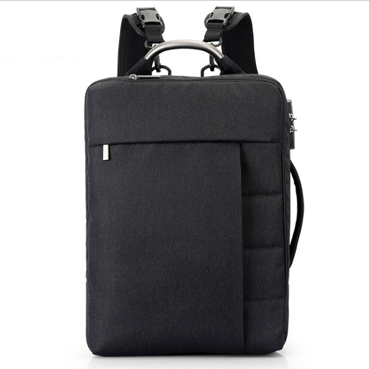 CAI Light Weight Fashion Backpack Anti-Theft With Lock Back Bag 15.6