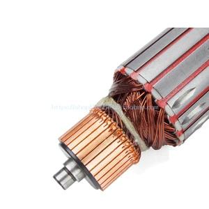 Image 2 - 전기자 로터 앵글 그라인더 전기 기계 원형 톱 전기 해머 사포 기계 철거 해머 전동 공구 부품