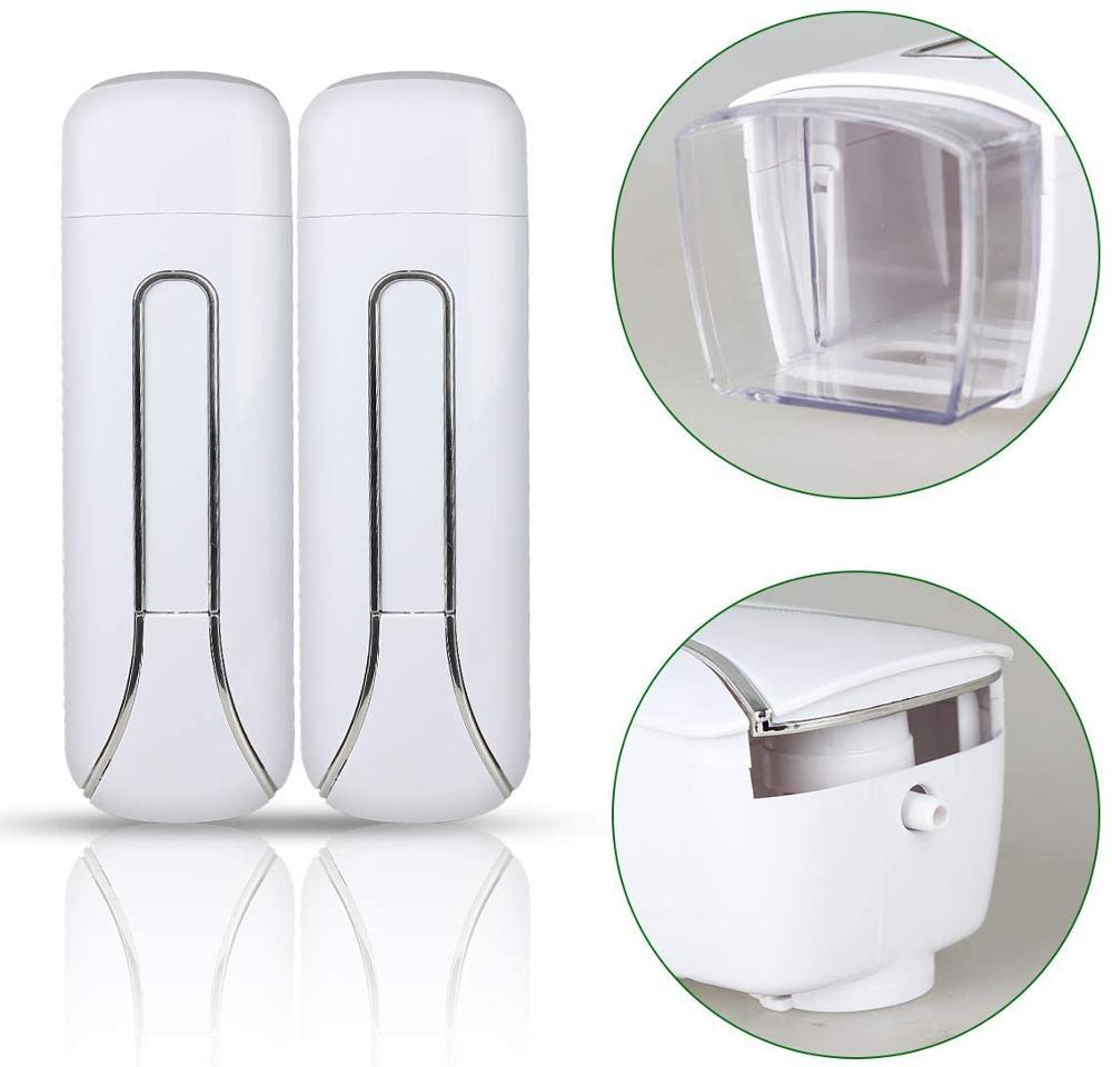 Automatic Shower Soap Dispenser Wall Mount 350ml Single Bathroom Liquid  Shampoo Gel Detergent Dispenser Hotel Home Accessories|Liquid Soap  Dispensers| - AliExpress