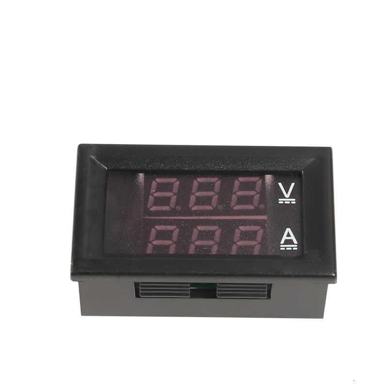 Resistente al Agua Aofan Volt/ímetro autom/ático DC12V-24V con Pantalla Digital LED para Coche Mini volt/ímetro Redondo Moto Verde cami/ón