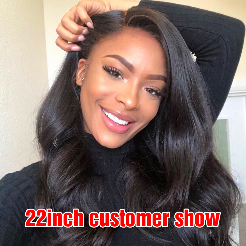 150% And 180% Density Lace Closure Human Hair Wigs For Woman Body Wave Closure Wig Pre Plucked 10inch To 30inch Available