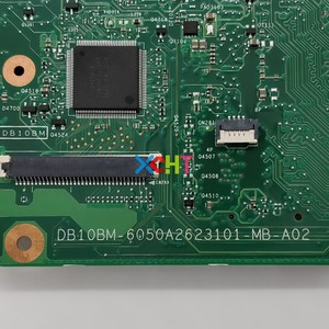 Image 5 - V000325200 w N2830 2.17GHz CPU Toshiba Satellite C50 C55 C55 A serisi dizüstü pc anakart anakart test