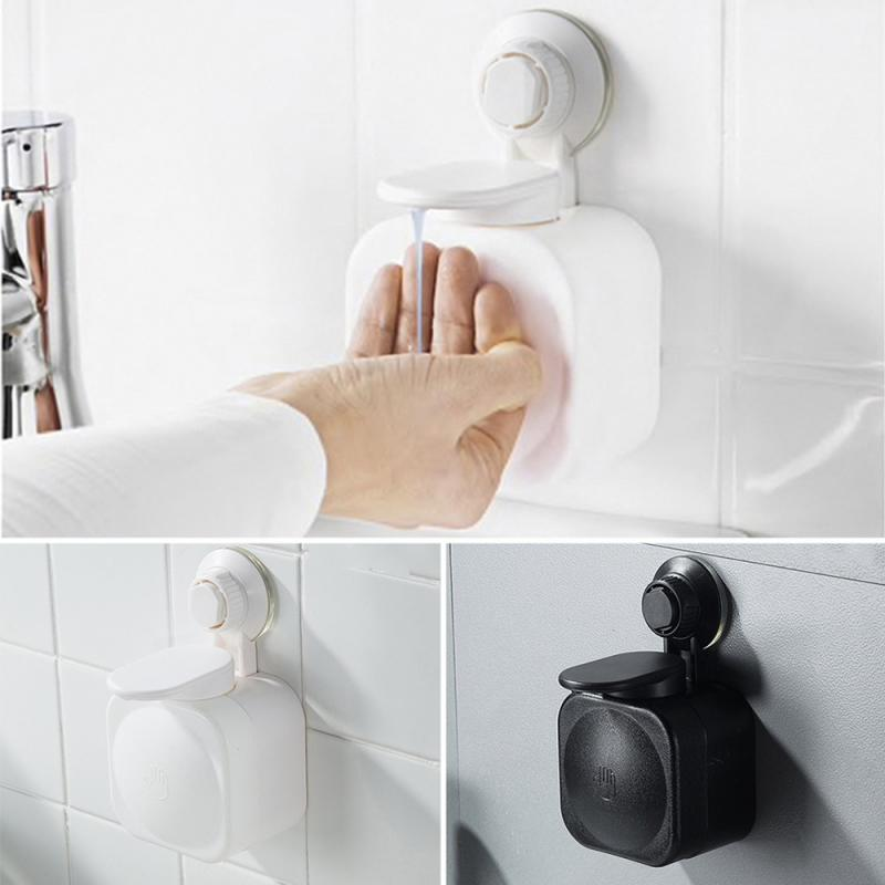 Liquid Soap Dispenser Wall Mounted Square Bathroom Accessories Liquid Soap Dispensers Bathroom Hardware