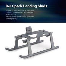 цена на Extended Landing Skids Gear Drone Legs Wheels Tripod for DJI Spark RC FPV Quadcopter Aircraft Drone UAV Spare Part