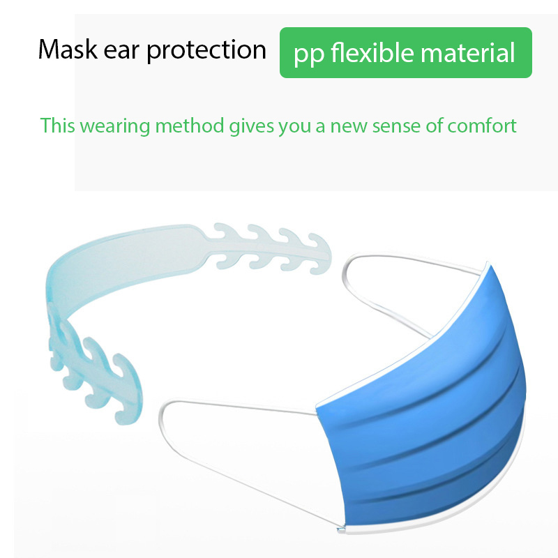 Disposable Protective Mask Ear Protector Accessories Mask Companion Accessory Hook Adjust Earband Extension Buckle Ear Protector