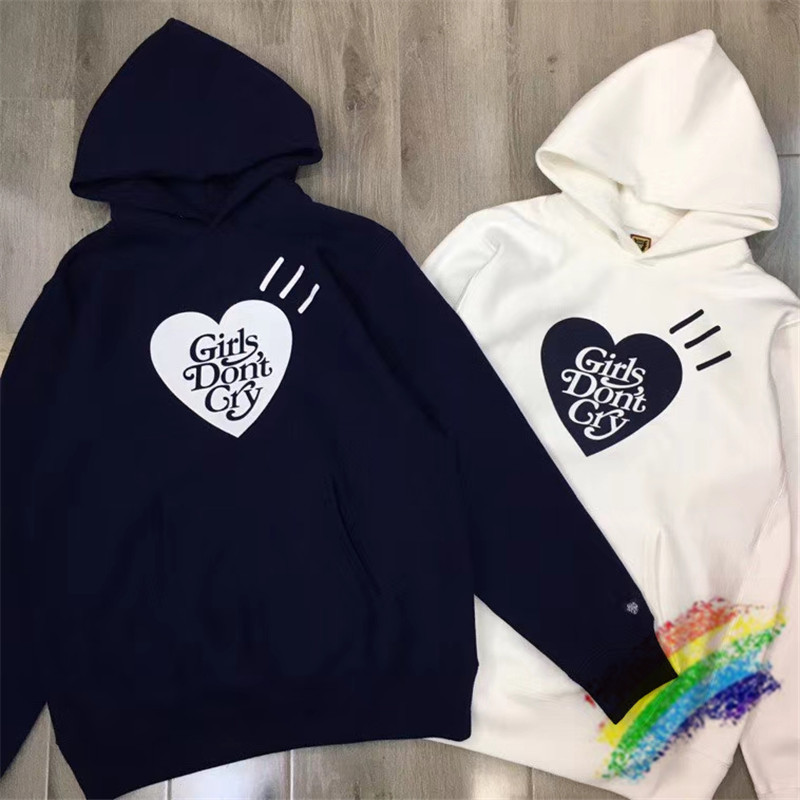 heavy fabric human made Girls Don't Cry Hoodie Men Women 1:1 Top Quality Sweatshirts human made Pullovers