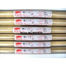 Ziyang Brass Electrode Tube OD1.6*400mm Single Hole for EDM Drilling Machine