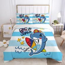 Cartoon pościel dla chłopców zestaw dla dzieci łóżeczko dziecięce kołdra zestaw poszewek poszewka na poduszkę pojedyncze 140*200 wieloryb tanie tanio Olrynns Brak Zestawy poszew na kołdry mikrofibra 1 0 m (3 3 stóp) 1 35 m (4 5 stóp) 1 5 m (5 stóp) 1 2 m (4 stóp) 1 8 m (6 stóp)