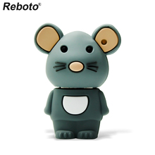 Retobo ไดรฟ์ปากกา 4GB 8GB 16GB 64GB 32GB น่ารัก USB แฟลชไดรฟ์ Memory Stick MINI U Disk USB 2.0