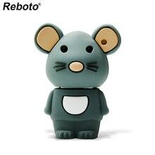 Retobo Pen Drive 4 ГБ 8 ГБ 16 ГБ 64 ГБ 32 ГБ симпатичная мышь USB флэш накопитель карта памяти мини U диск USB 2,0