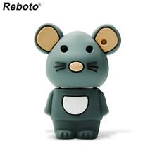 Retobo Pen Drive 4GB 8GB 16GB 64GB 32GB Sveglio Del Mouse USB Flash Drive di Memoria del Bastone mini U Disk USB 2.0