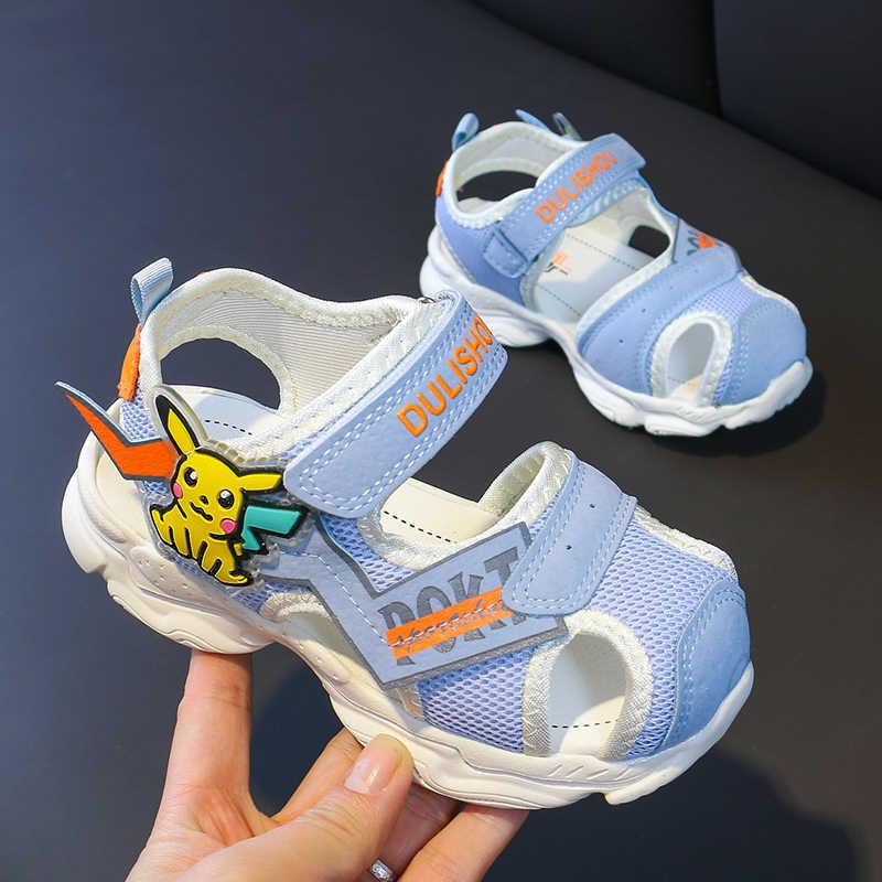 2020 Unisex Boys Beach Sandal Hook & Loop Boy Sport Sandals Anti Slip Girls  Summer Sandal Good Quality Children Sneakers Sandals Sneakers  - AliExpress