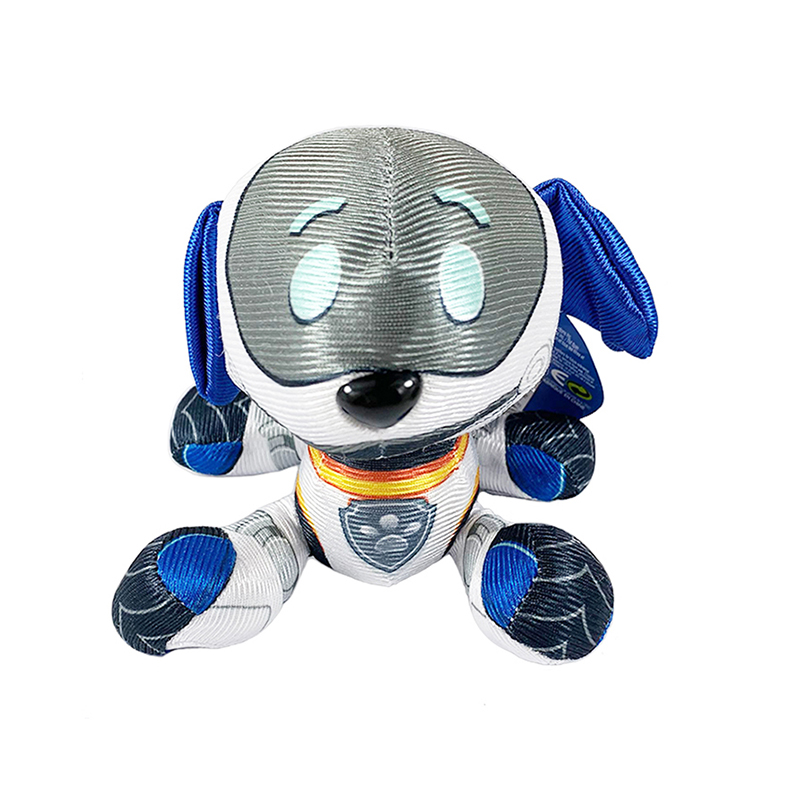 Paw Patrol Robo-Dog Marshal Rocky Chase Skye Stuffed Plush Doll Anime Kids Toys Action Figure Plush Doll Model Stuffed Toy Gift