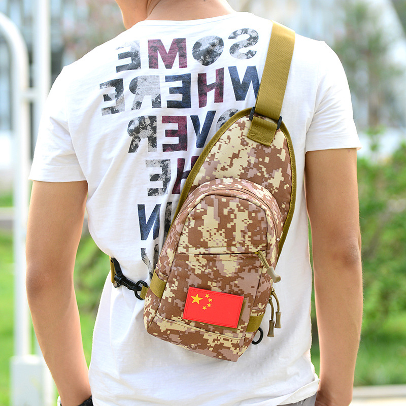 New Style Men's Women's Chest Pack Rides Luggage Camouflage Open Country Sports Bag Multi-functional Shoulder Oblique Outdoor Ta