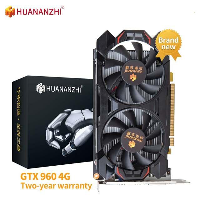 HUANANZHI RX 560 4G Brand New Original Graphics Cards GPU 128Bit GDDR5 GTX 650 960 970 1050 TI 4G 1660S RTX 2060 6G Video Card 1