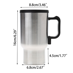 12V Car Heating Cup Stainless