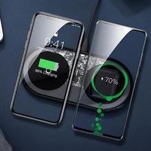Baseus15W Dual Mirror Type C Wireless Fast Charging Dock Station for iPhone 11 Pro Max X XS for Samsung Galaxy Note 10 Plus