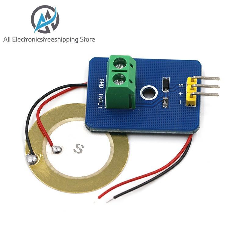 DIY KIT 3.3V/5V Ceramic Piezo Vibration Sensor Module Analog Controller Electronic Components Supplies Sensor For Arduino UNO R3