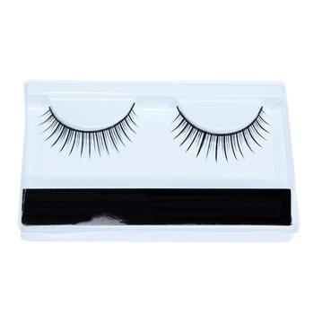 1 Pair Natural Looking Sexy Fake Eyelashes Eye Makeup Short False Lashes Gift Fake Eye Lashes Makeup Tools Soft False Eye Lashes image