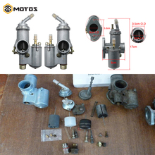 ZS MOTOS R69S R1 PZ28 R12 For R71 CJ-K750 Carburetor 1Pair BMW Carburador M72 R50 R60/2 Ural Motorcycle